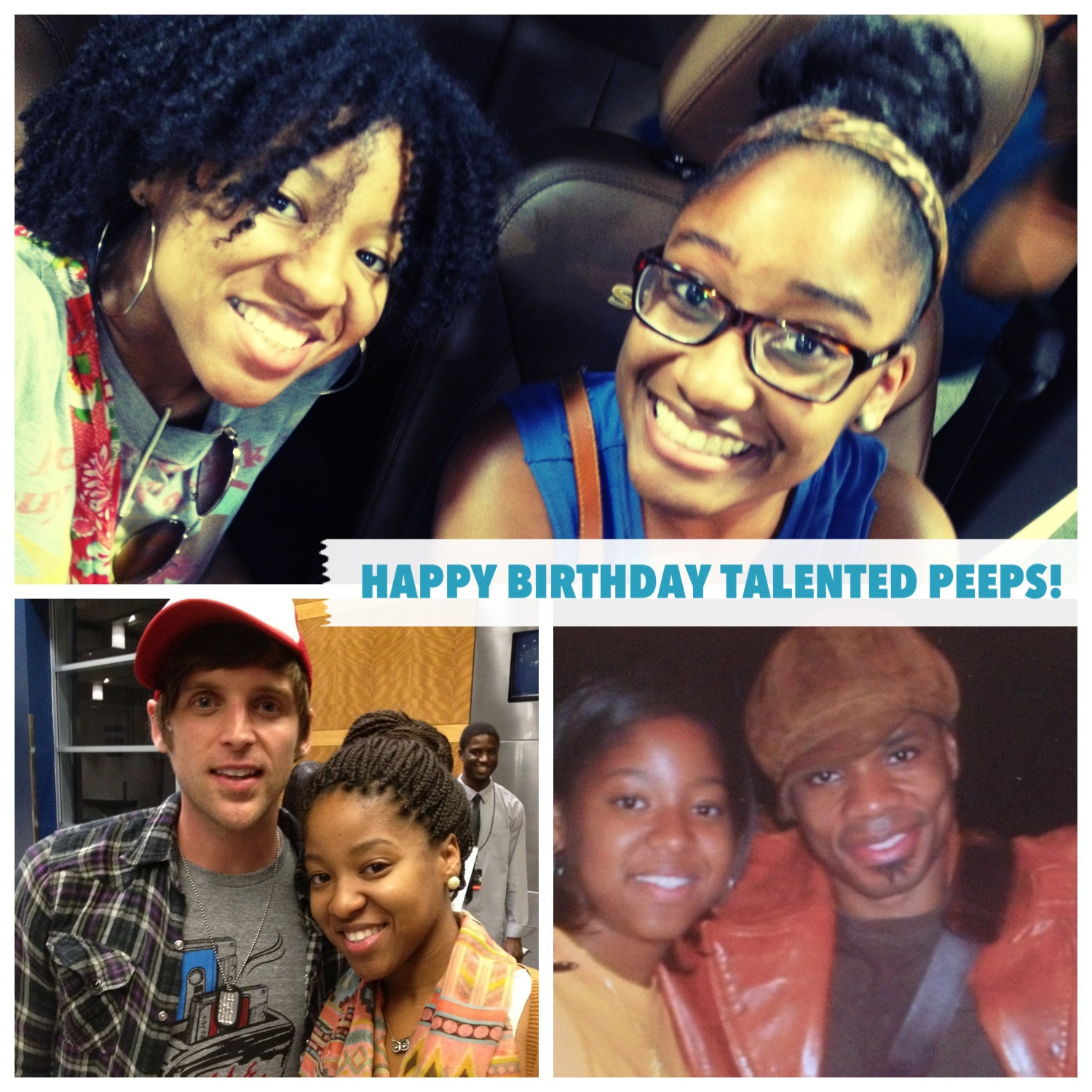did i mention these cool people get to share a birthday with my awesome sister so to kirk franklin breith today too