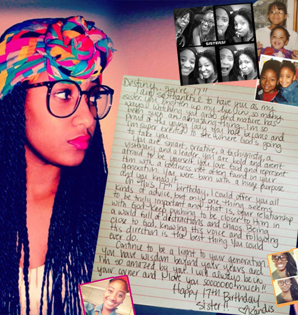 An Open Letter to My Sister